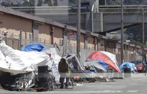 舊金山無家可歸人數急劇攀升 民主黨解決方案弄巧成拙